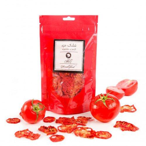 گوجه خشک آیزادفود مقدار 300 گرم