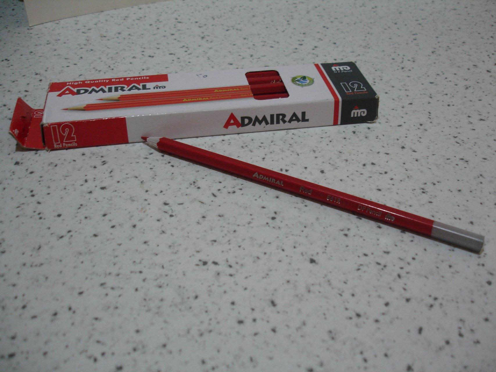 مداد قرمز ادمیرال