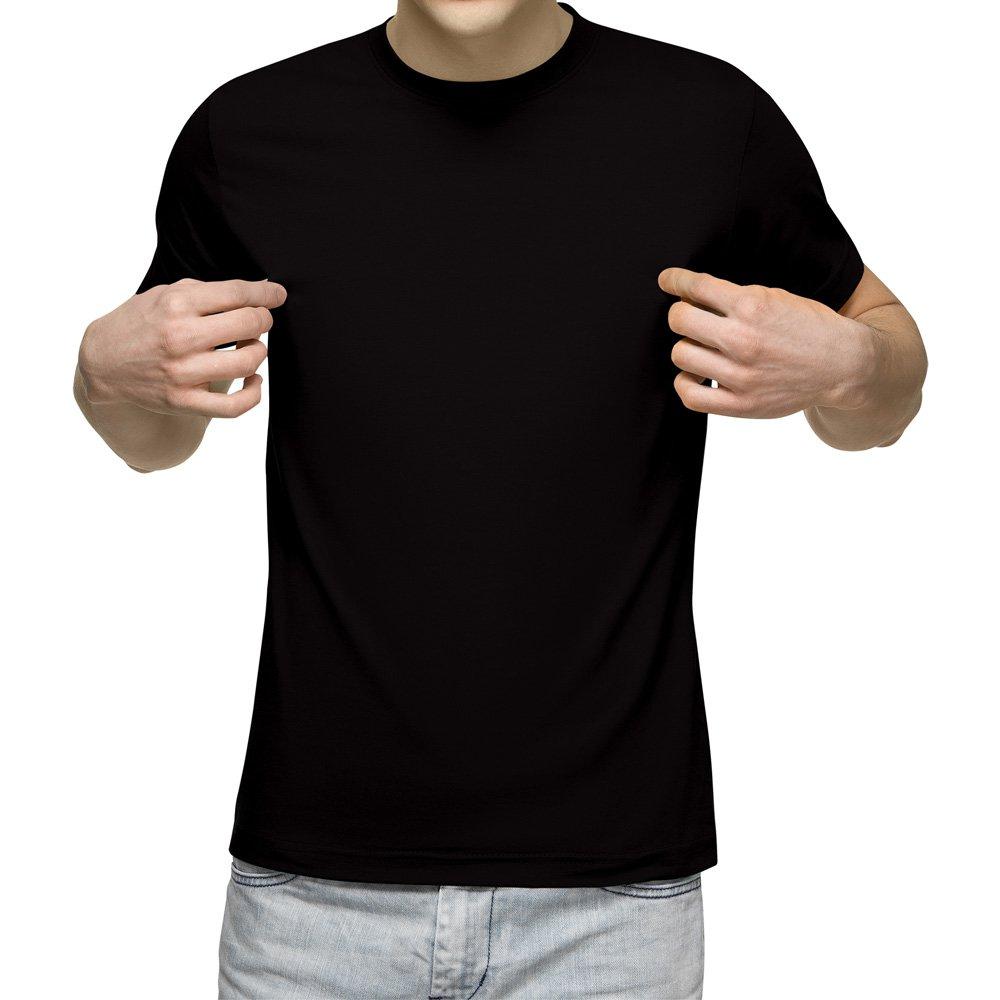 تیشرت آستین کوتاه مردانه مشکی