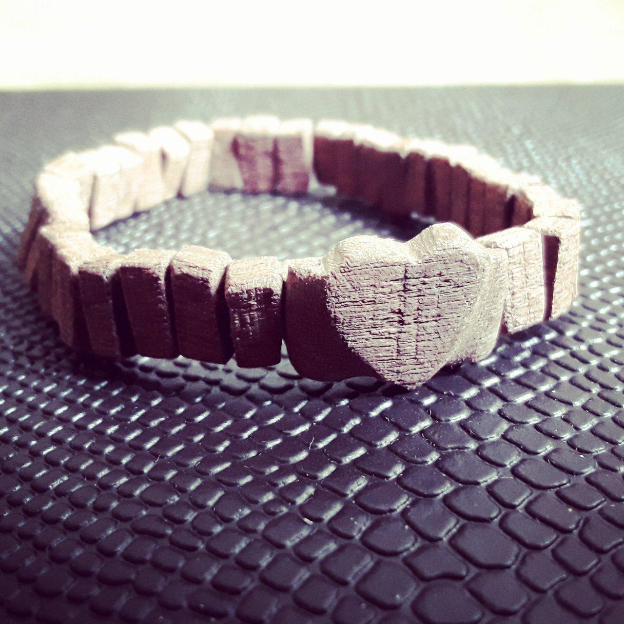دستبند چوبی بندی