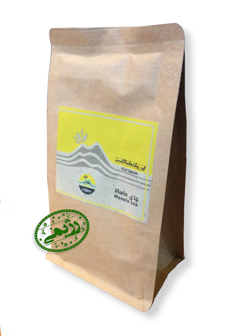 چای ماسالا رژیمی دماوند حجم 500 گرم