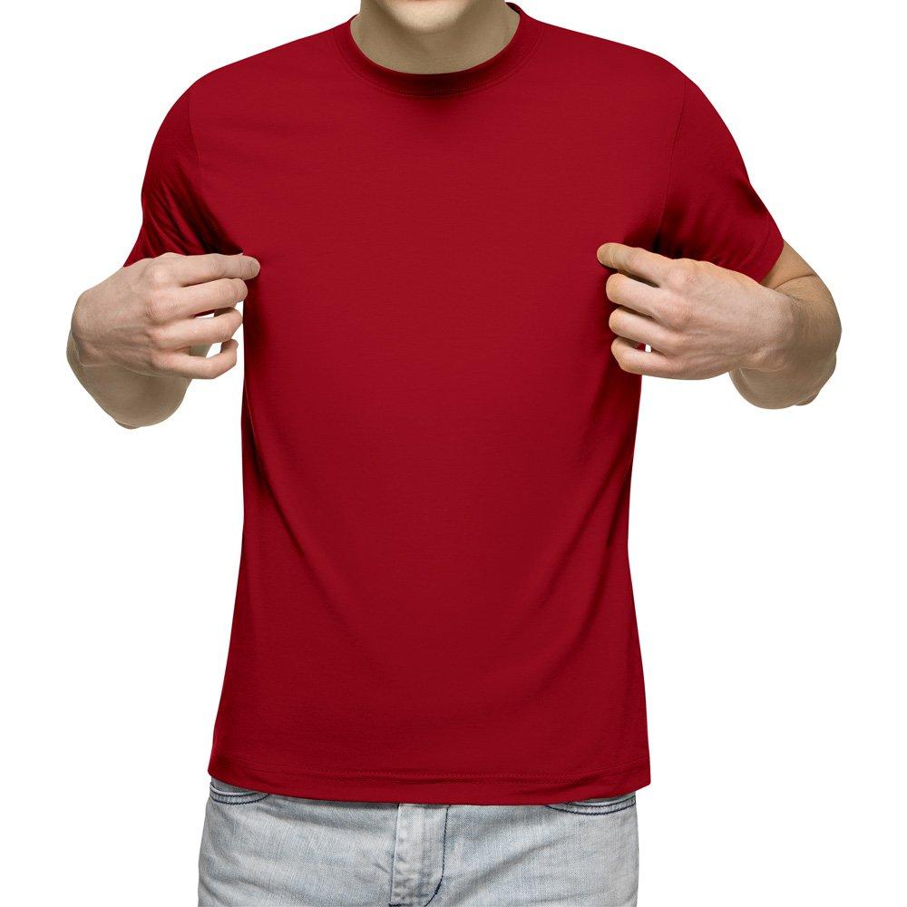 تیشرت آستین کوتاه مردانه کد 1SRD رنگ قرمز