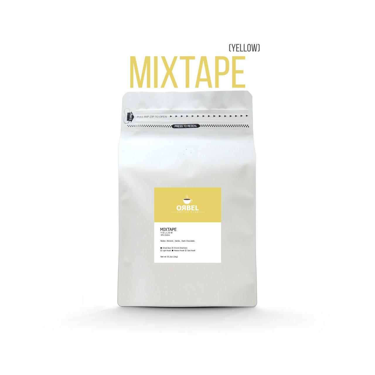 دانه قهوه اربل مدل میکس تیپ یلو 1 کیلوگرم