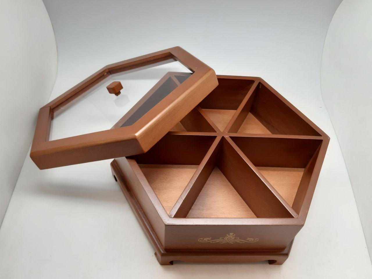 جعبه پذبرایی چوبی TEA BOX