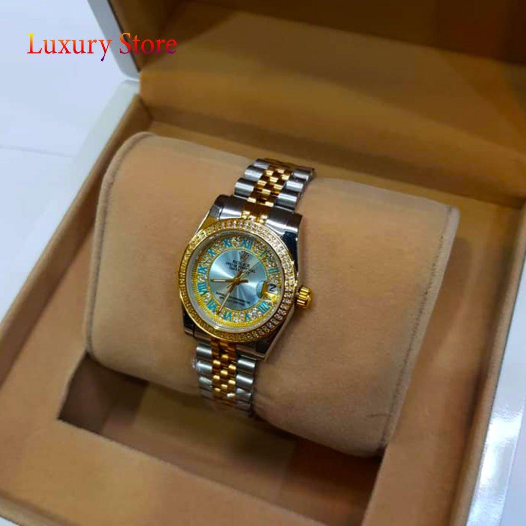 ساعت رولکس زنانه Rolex مدل دیت جاست