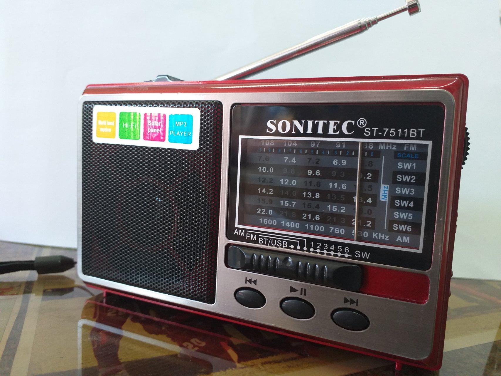 رادیوی 10 موج بلوتوث دار