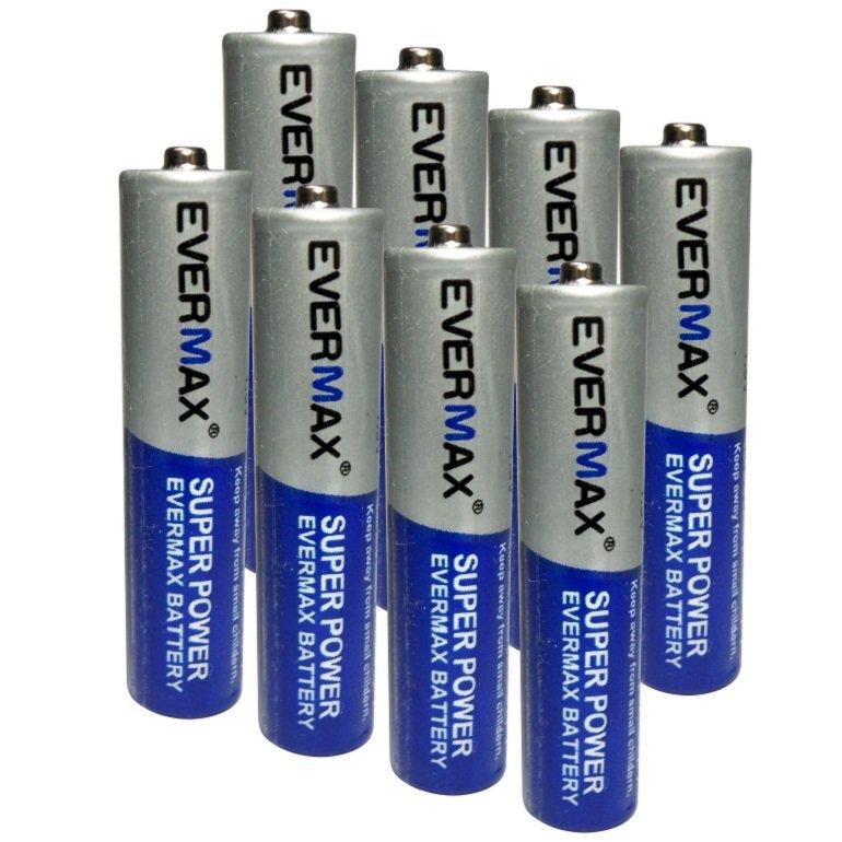 باتری نیم قلمی اور مکس مدل Super Power بسته 8 عددی