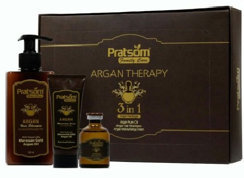 پک محصولات آرگان پرتسوم Prarsom 3 in 1