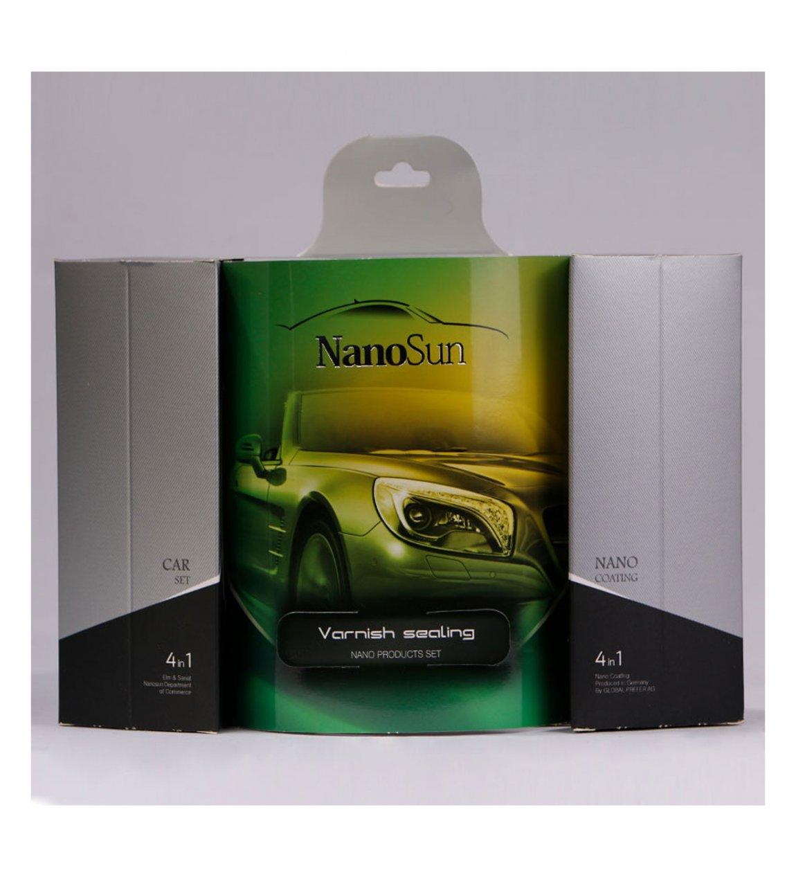 پک محافظ نانو بدنه خودرو NanoSun
