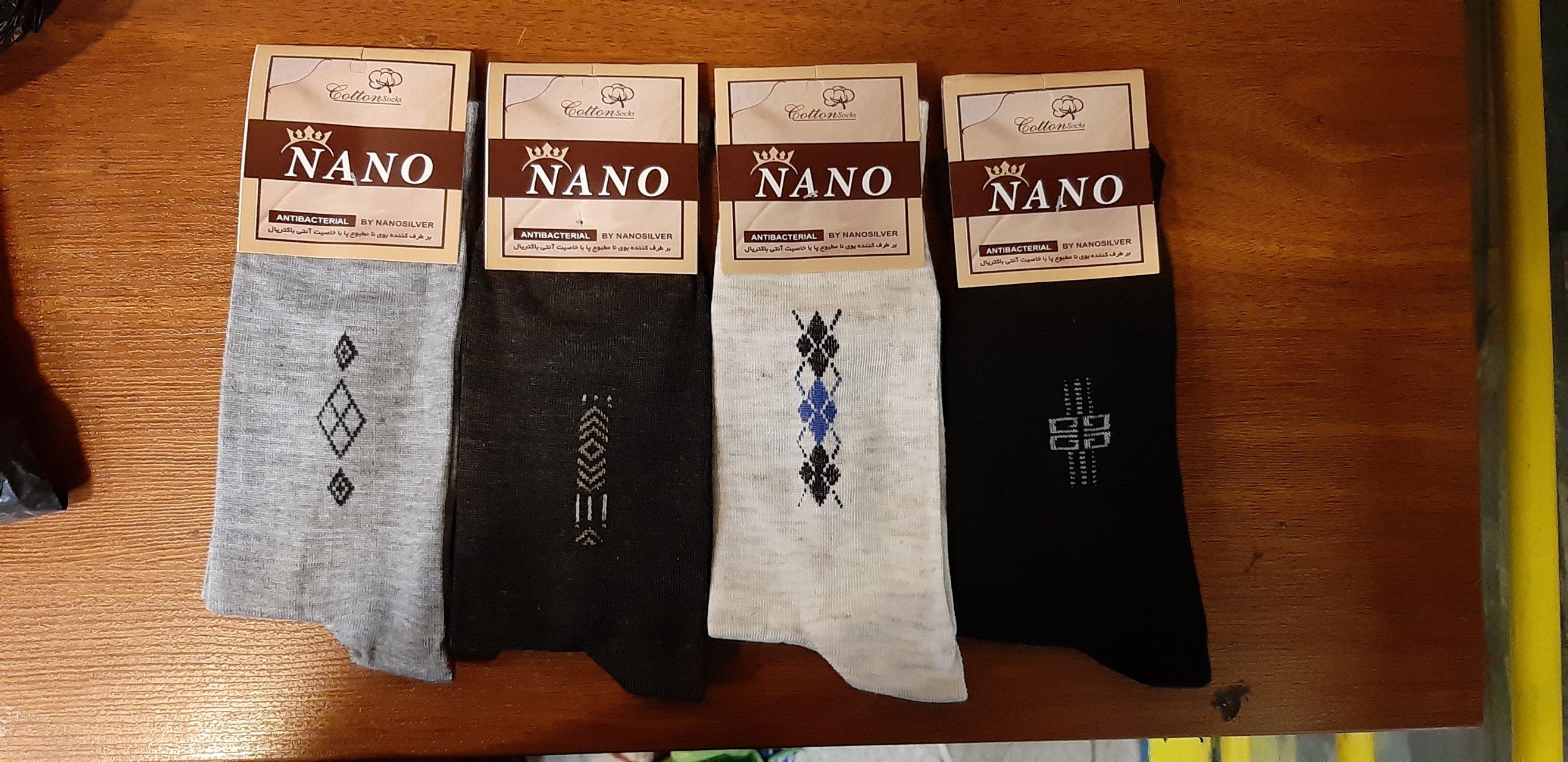 پک ۱۲ عددی جوراب ساق بلند مردانه