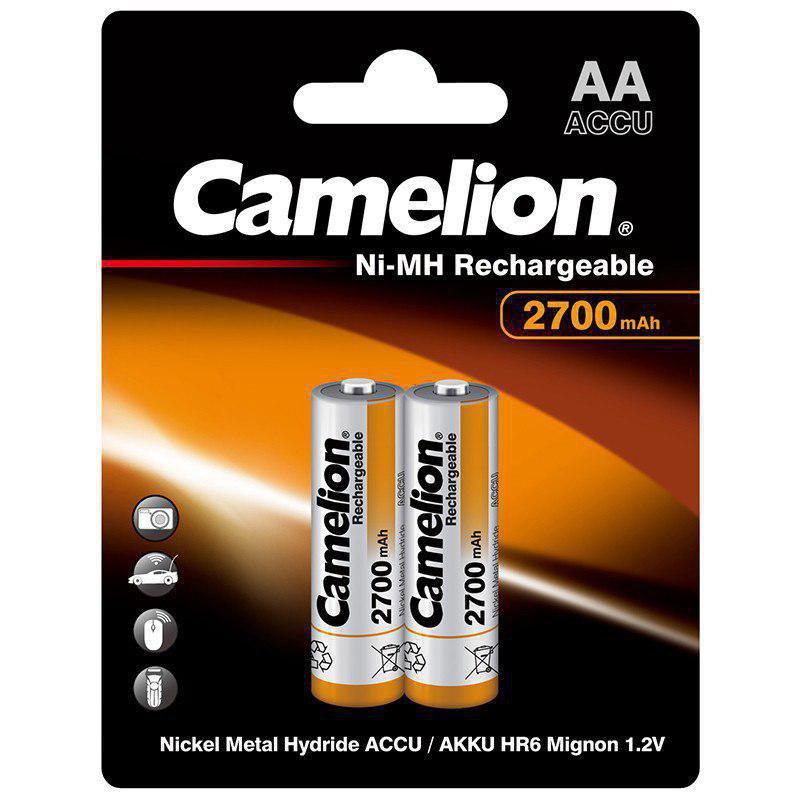 باتری قلمی شارژی camelion AA - 2700ma کملیون