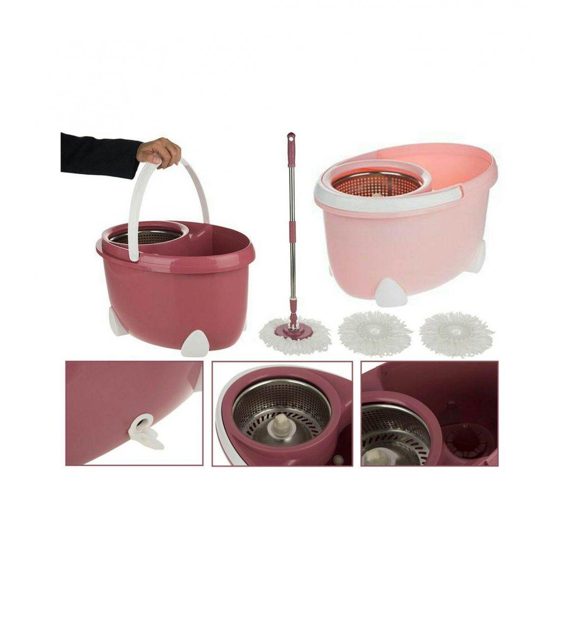 سطل و زمين شوی همارا مدل Rotating Bucket 7710