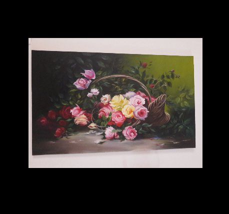تابلوی نقاشی رقص گل ها