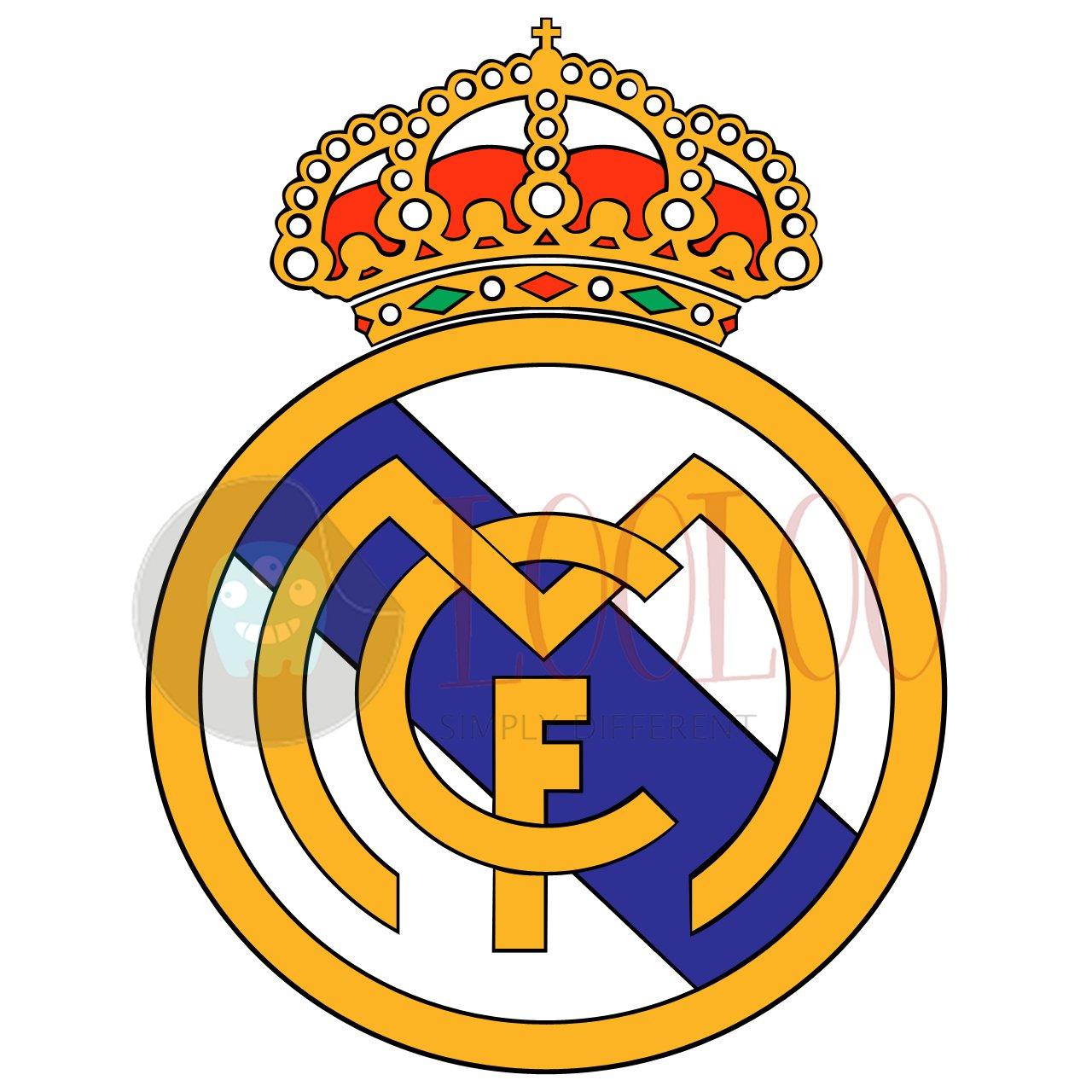 استیکر رئال مادرید از مجموعه فوتبال لولو استیکر