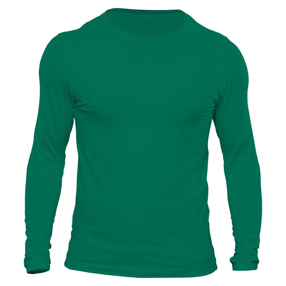 تیشرت آستین بلند مردانه کد 3BGR رنگ سبز