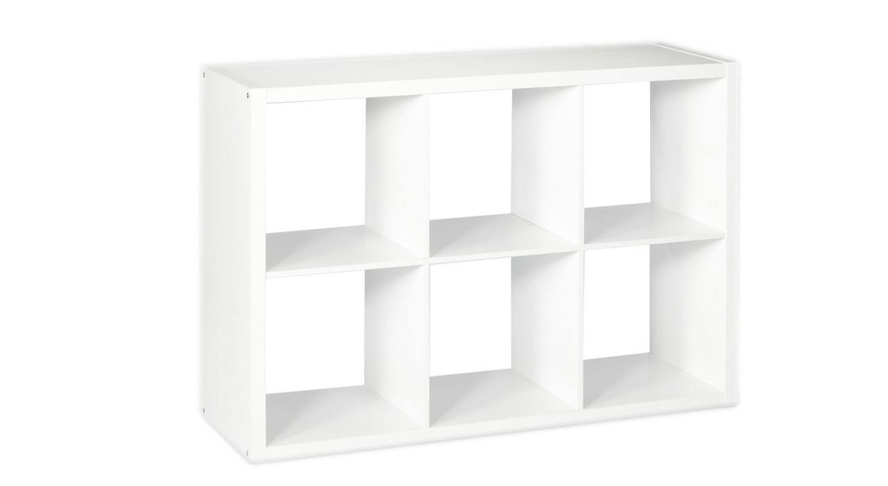 کتابخانه چوبی مدل Manya_6CUBE