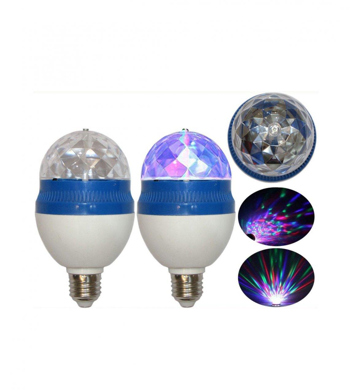 لامپ رقص نور گردان مدل AC85
