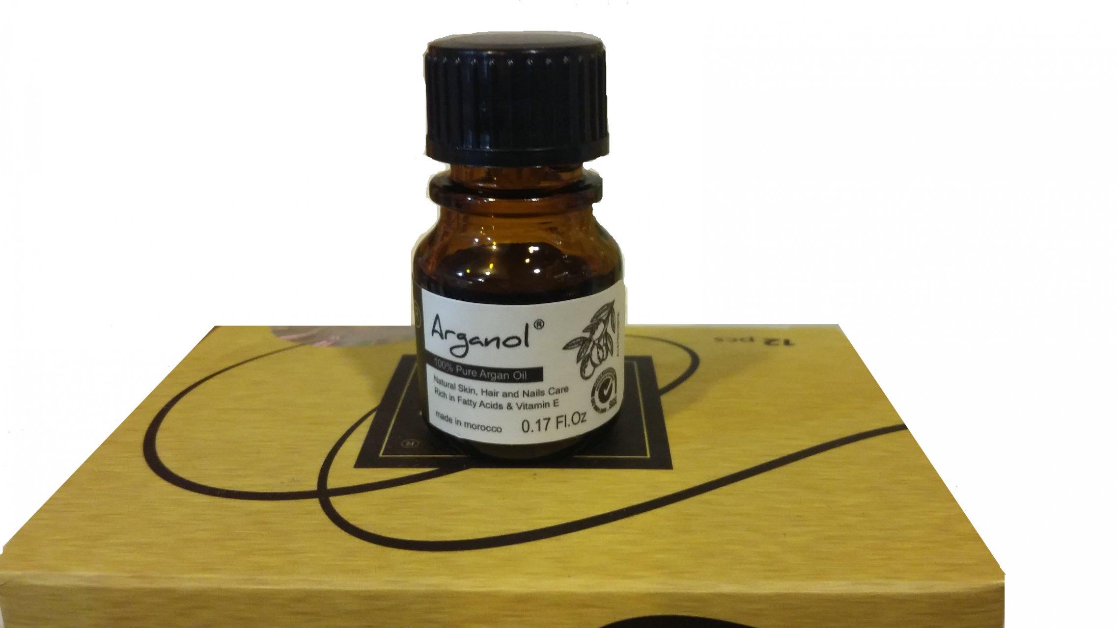 روغن آرگان مراکشی اصل آرگانول 5 میلی گرم