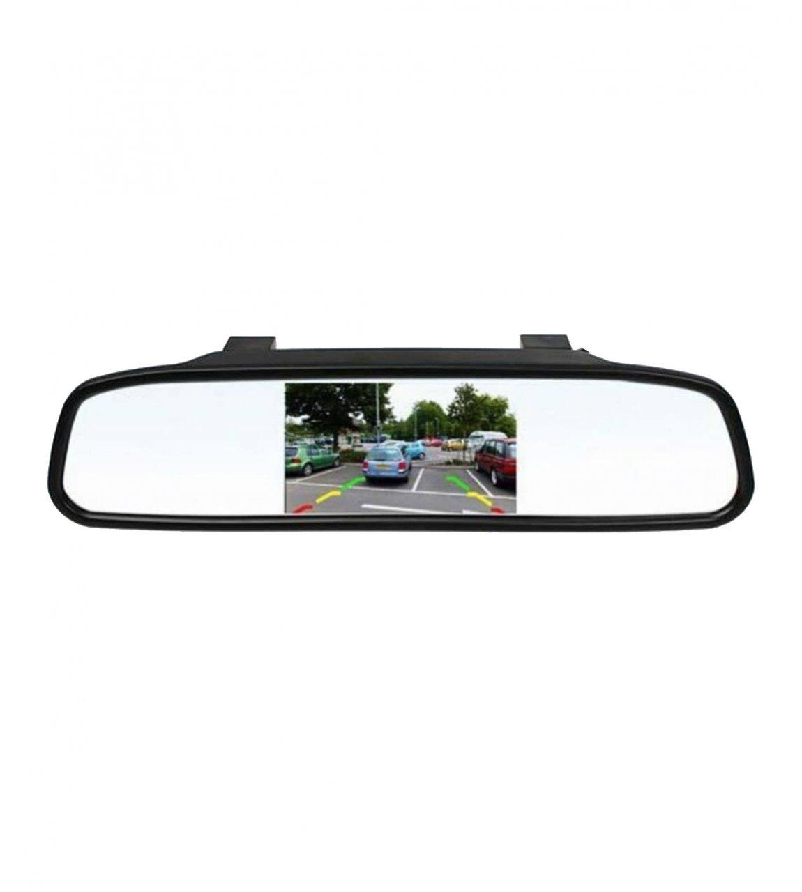 آینه مانیتور دار با دوربین دنده عقب خودرو برند MAXIM