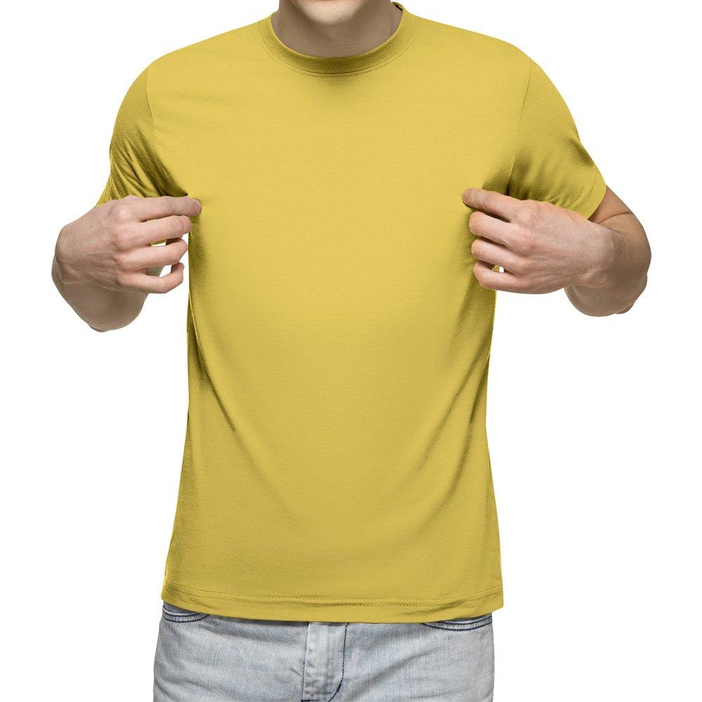 تیشرت آستین کوتاه مردانه کد 1GYL رنگ زرد لیمویی