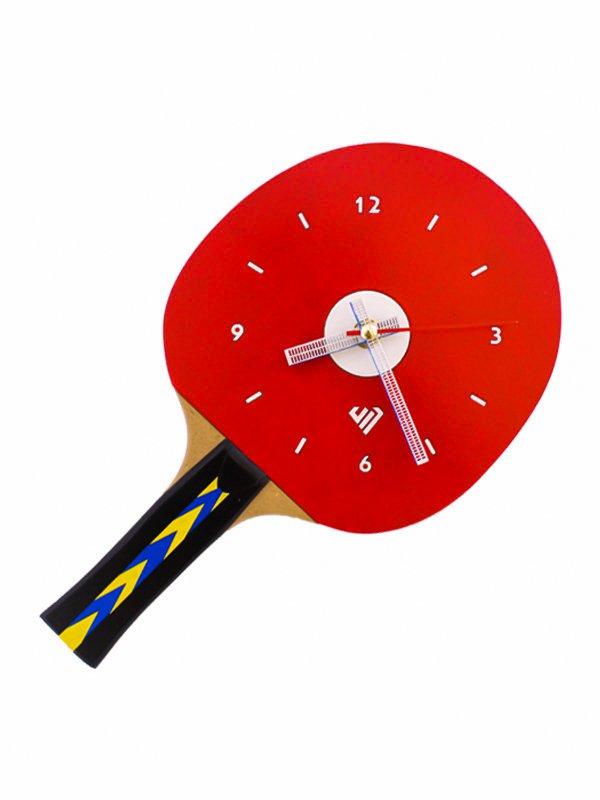 ساعت دیواری طرح راکت پینگ پنگ ( دال )