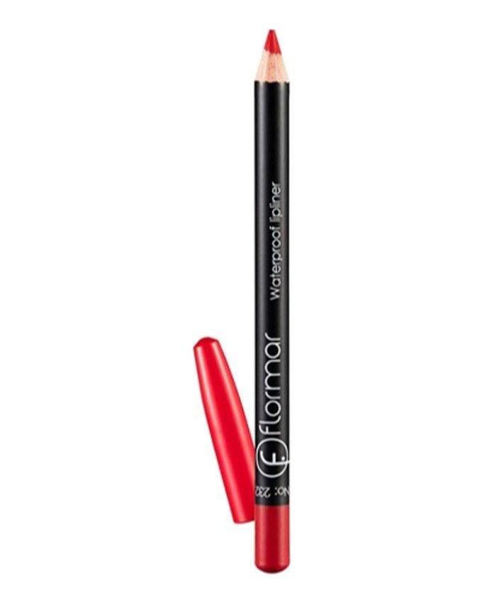 مداد لب ضد آب کد 232 رنگ قرمز flormar