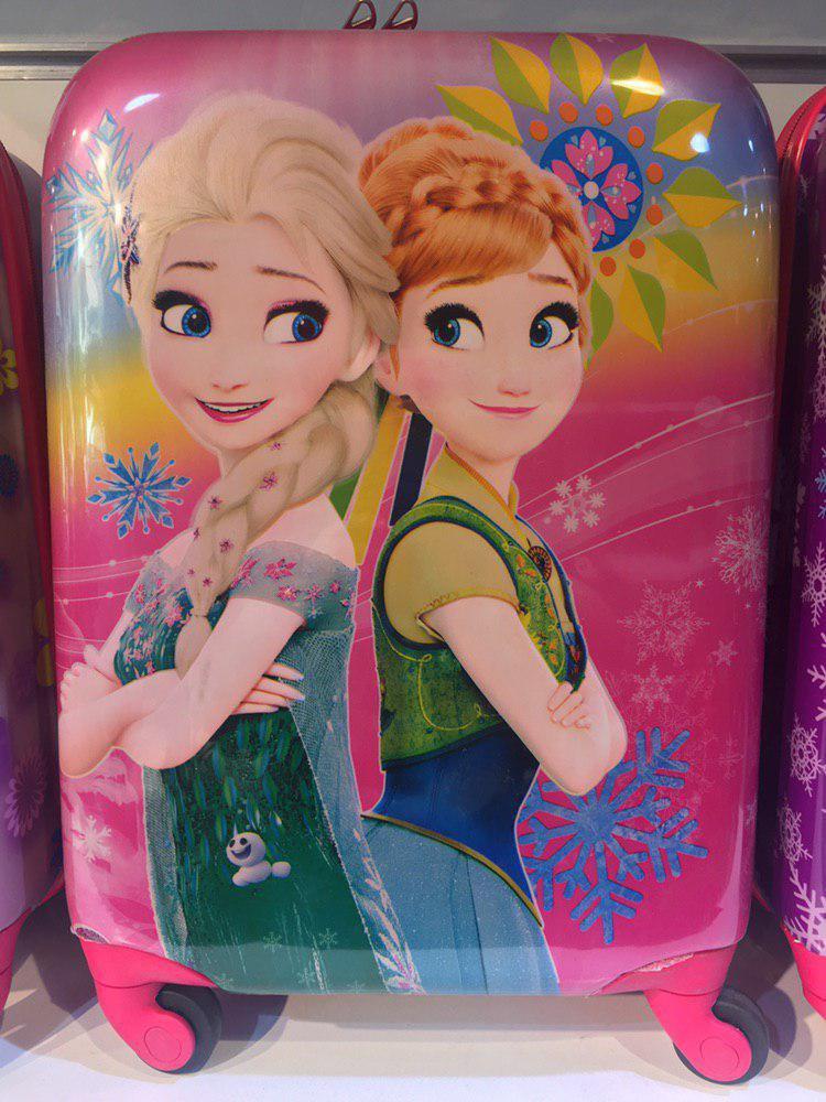 چمدان بچه دخترانه سایز 16