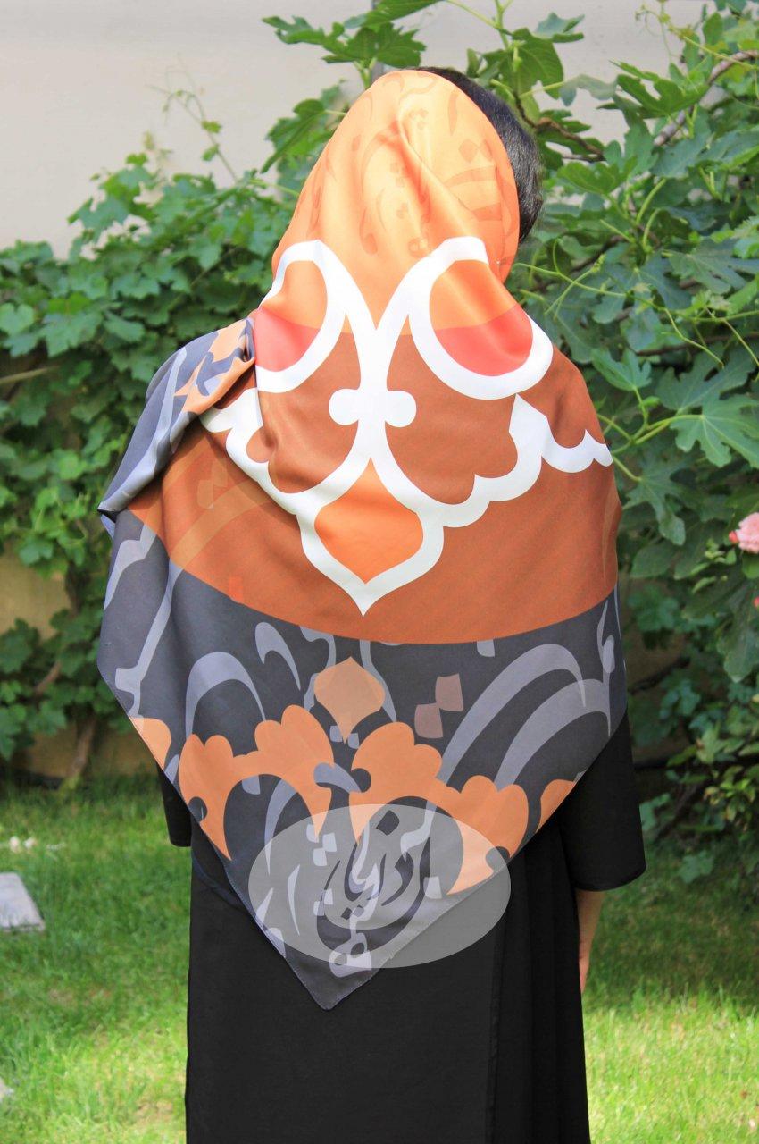روسری طرح شعر سعدی - هیچ