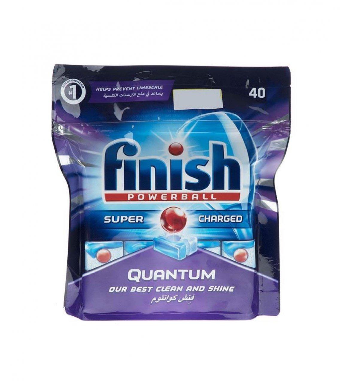 قرص ماشین ظرفشویی کوانتوم فینیش 40 عددی