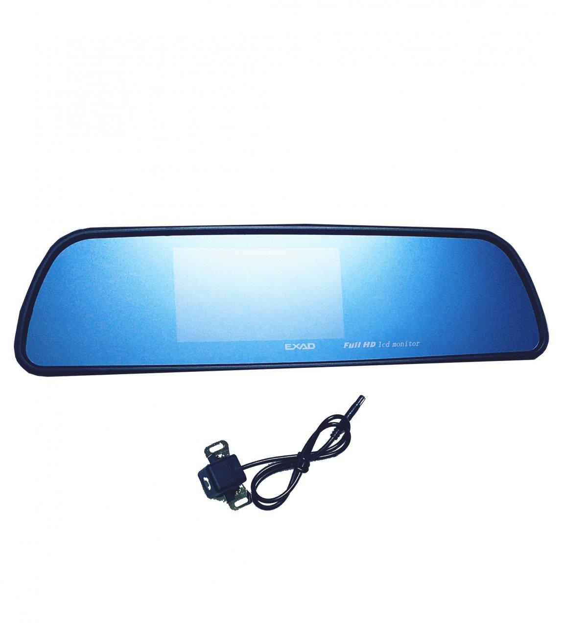 آینه مانیتور دار با دوربین دنده عقب خودرو برند EXAD
