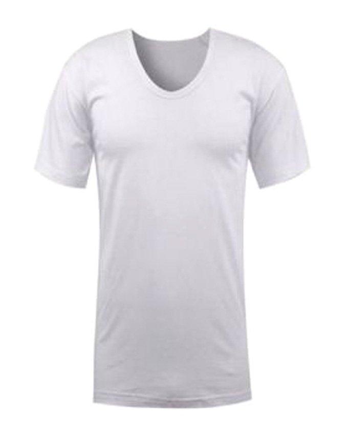 زیرپوش مردانه آستین کوتاه سفید