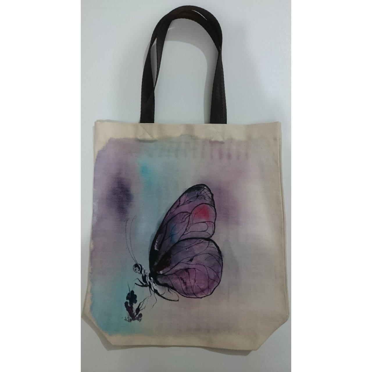 کیف خرید دست دوز طرح پروانه