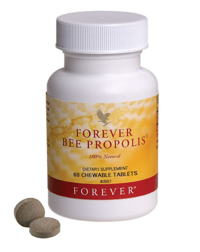 مکمل غذایی بی پروپولیس Forever Bee Propolis محتوی 60 قرص