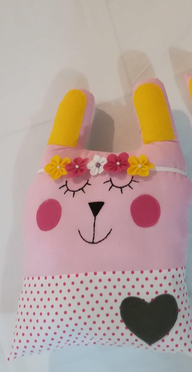 گارد تخت عروسکی طرح خرگوش