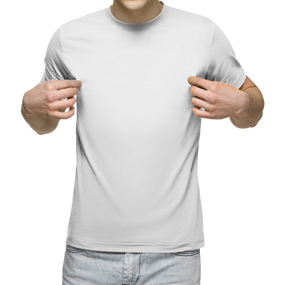 تیشرت آستین کوتاه مردانه کد 1BWH رنگ سفید