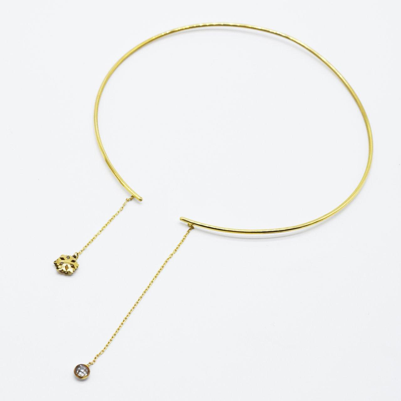 گردنبند طلا مدل چوكر ماركو