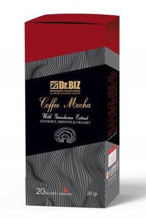 قهوه گانودرما با طعم کافه موکا دکتر بیز