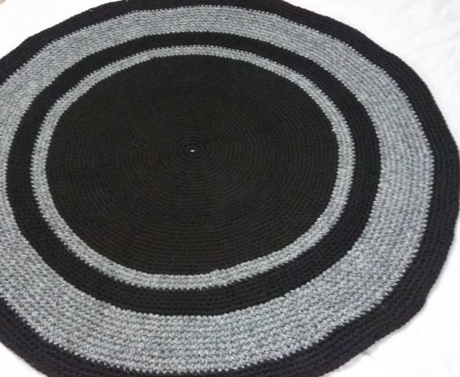 فرش دست بافت طرح دایره