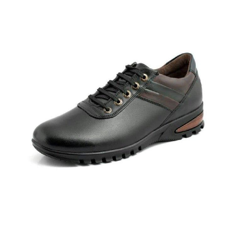 کفش مردانه تمام چرم اسپورت مدل پدیده بنددار