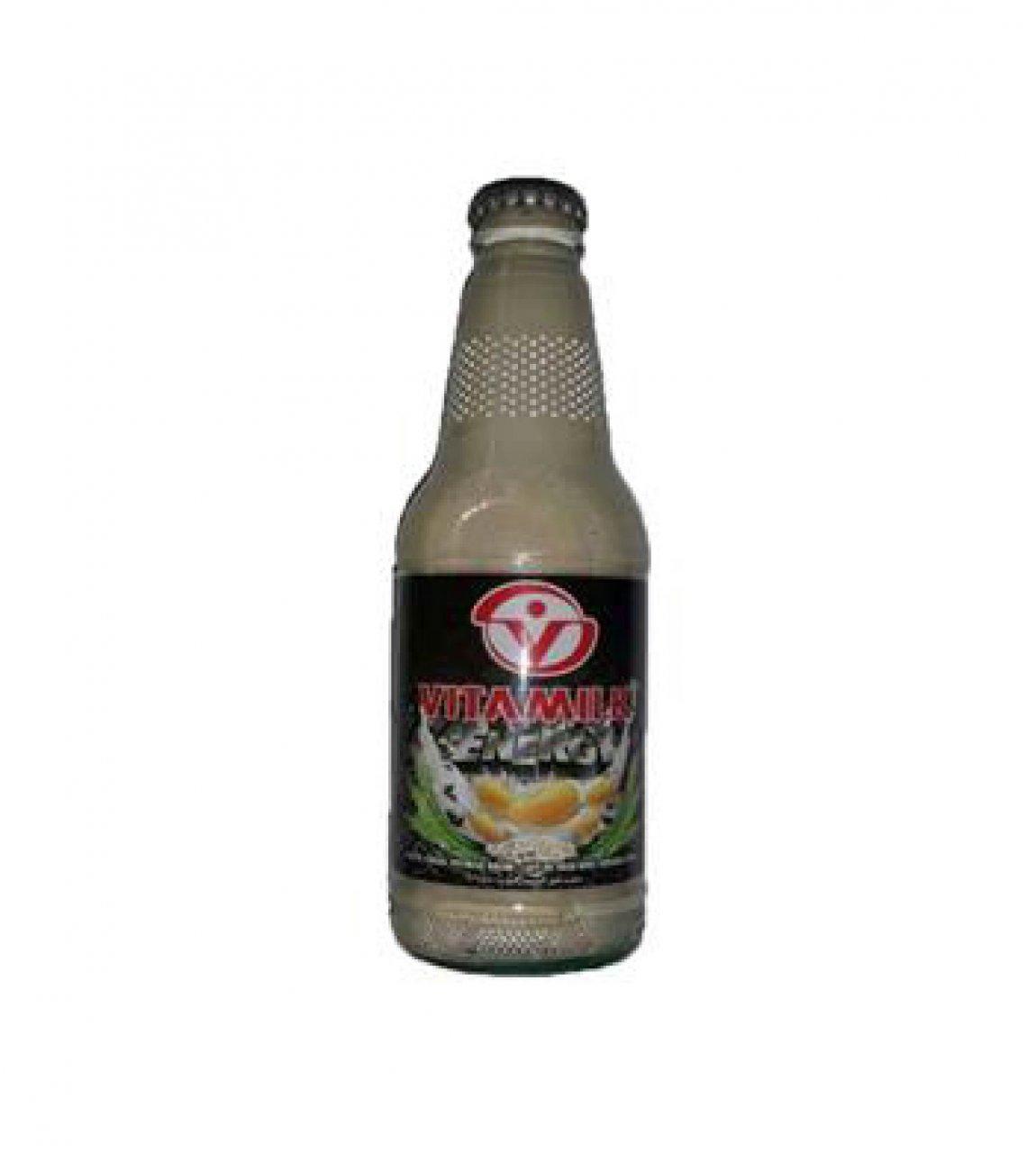 شیر سویا کاکائو ویتا میلک شیشه ای