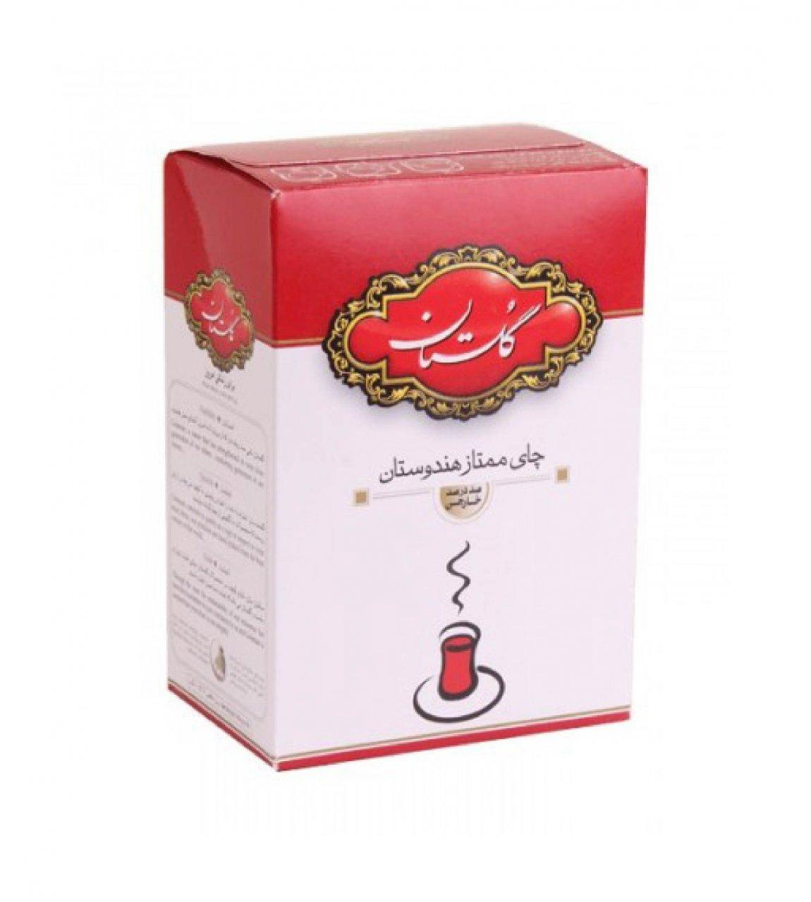 چای سیاه ممتاز هندوستان گلستان 500 گرمی