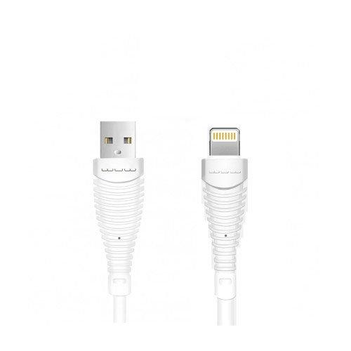 کابل تبدیل USB به لایتنینگ دبلیو یو دبلیو مدل X76 طول 0.9 متر