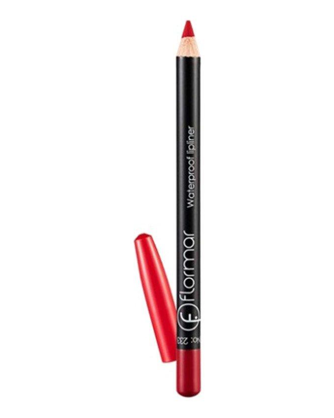 مداد لب ضد آب کد 233 رنگ قرمز flormar