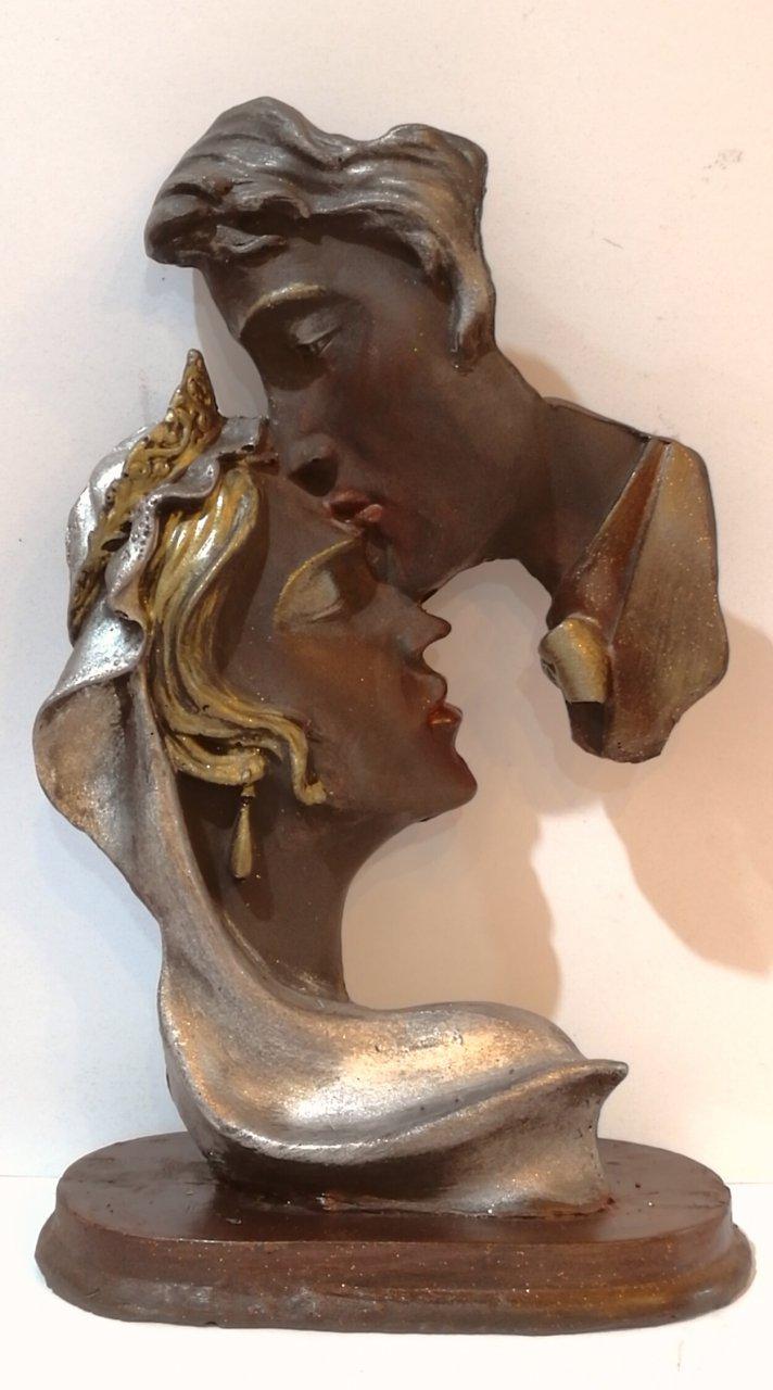 مجسمه شکلاتی عروس و داماد