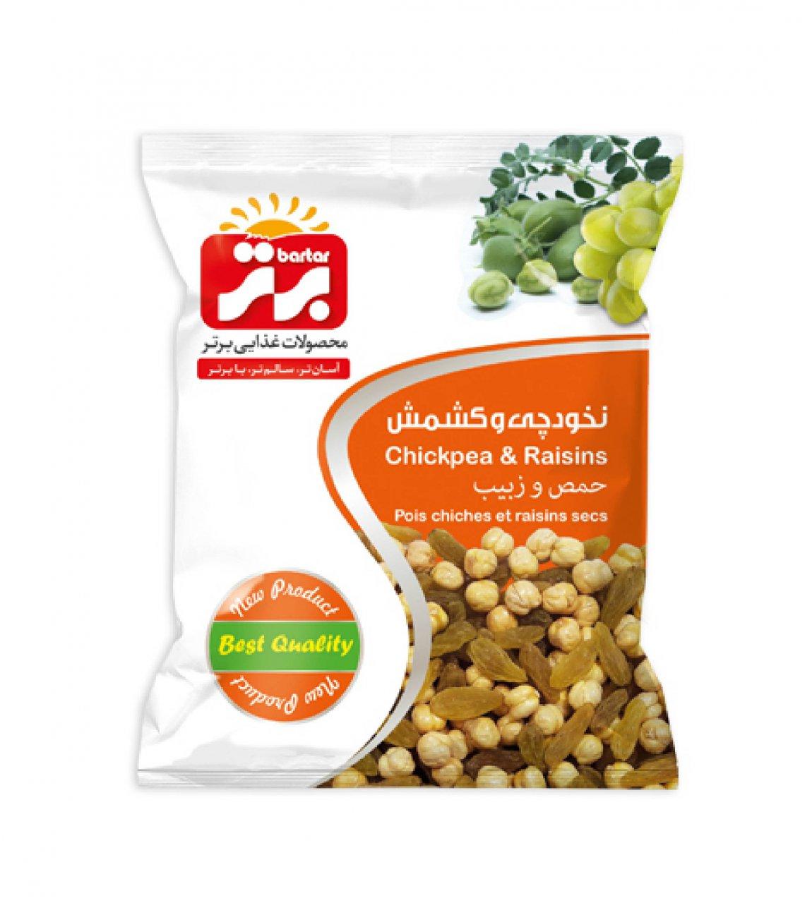 نخودچی کشمش 125 گرم برتر