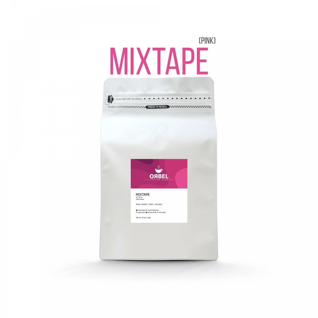 دانه قهوه اربل مدل میکس تیپ پینک 1 کیلوگرم