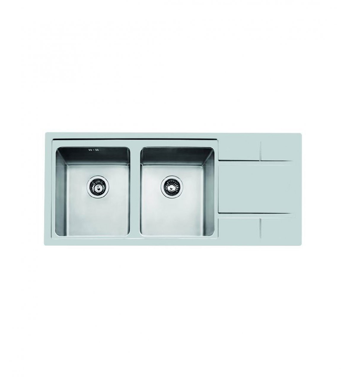 سینک ظرفشویی دو لگن نستا NS-3002