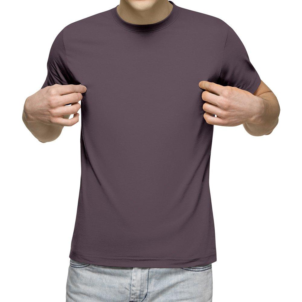 تیشرت آستین کوتاه مردانه طوسی