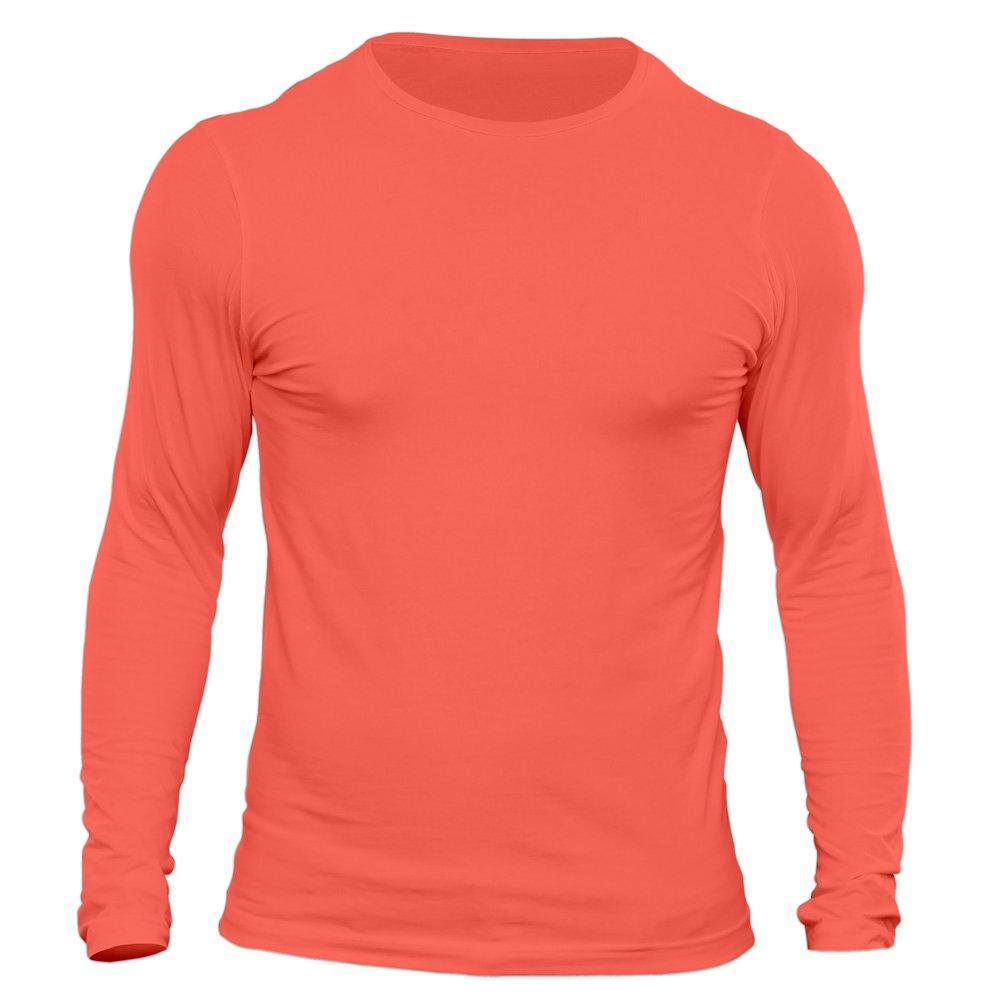 تیشرت آستین بلند مردانه کد 3SPI رنگ سال ۲۰۱۹ - مرجانی