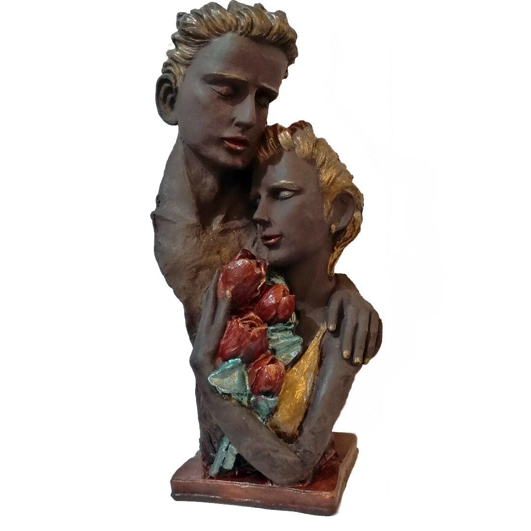 مجسمه شکلاتی شور عشق